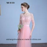 Втулки Multi цвета половинные подпирают платье венчания Appliques официально