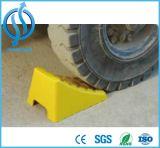 Gummirad-Keil-Stopper für großen Gummireifen mit Halter