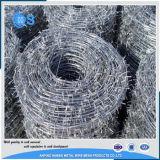 Поставка фабрики Горяч-Окунула гальванизированную колючую проволоку для загородки