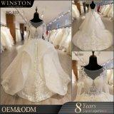 Populärer Verkauf plus Größen-moslemisches Hochzeits-Kleid