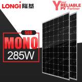 Panneau mono solaire 285W des piles 5bb solaires de Longi pour le système