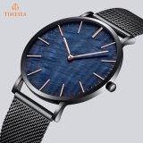 Les montres de type des hommes neufs d'acier inoxydable avec la bande 72927 de maille