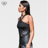 2017 Diseño de Moda para damas superior de la cosecha, personalizado para las Mujeres Tank Top Sin mangas