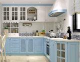 Armadio da cucina di legno dell'armadietto del MDF di disegno moderno