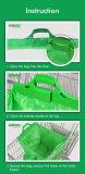 Una capa de carrito de compras El carro de la bolsa de fácil