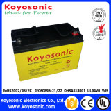 paquete de potencia sellado 12V de batería de la batería de plomo 12V de la batería de 12V 80ah