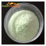 Brillo verde en el pigmento oscuro en polvo para Baba
