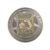 Moneta d'argento antica dell'accumulazione del metallo con smalto molle (Ele-C116)