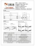 60kg Hotselling Zeit-Feuer-Türschließer für Aluminium- und hölzerne Tür