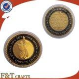Ángel de metal personalizados Souvenir Promoción de la Moneda de desafío de monedas antiguas