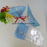 Прозрачный пластиковый пакет с Poly BOPP с нижней части карты