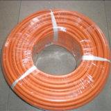 Boyau flexible de gaz naturel, boyau de gaz d'argon, boyau en caoutchouc de gaz