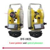 Laser Theodolite Dt-102L avec 200m Laser Point