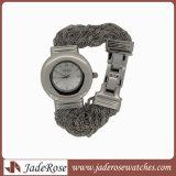 Diseño de Moda Mujer Pulsera de diamantes Relojes de Pulsera Reloj de cuarzo Relojes Rhinestone