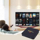 2018 modelleer Mx de Mini Androïde Doos van 6.0 TV, de Androïde Doos Amlogic S905X van TV 1GB/8GB 64 Bits en het Ware 4K Spelen