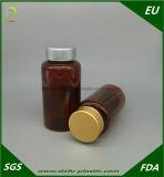 محبوب [200مل] بلاستيكيّة الطبّ زجاجة مع نوع ذهب غطاء