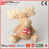 Xmas 아이들을%s 연약한 장난감 견면 벨벳 박제 동물 순록 또는 아기 또는 아이