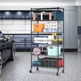 Коммуникационный провод домашнего гаража завальцовки полки хранения яруса награды 6 регулируемого стальной