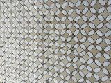 꽃 패턴 물 분출 당초무늬 Bianco Carrara 백색 대리석 돌 Backsplash 모자이크 타일