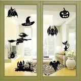 Abitudine smontabile amichevole di Halloween Eco per incandescenza della stella dell'autoadesivo della parete del soffitto negli autoadesivi scuri