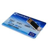 Cartão de Crédito à prova de Pen Drive USB de memória flash