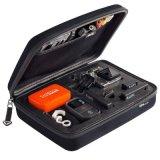 Портативная коробка хранения мешка ЕВА воды случая Gopro упорная защитная на герой 4 Gopro 3 3+ 2 1 Sjcam Sj4000 Sj5000 Sj6000