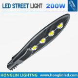 Hl dell'oceano del nero LED di via degli indicatori luminosi 240W della strada della strada principale del giardino della sosta di via dell'indicatore luminoso 85-265V IP65 di illuminazione esterna della lampada