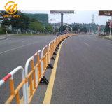 1500*1000mm de controlo de multidões a barreira de segurança rodoviária de plástico com Películas reflectoras