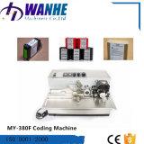 Máquina automática de la codificación del tratamiento por lotes de la fecha de la inyección de tinta con tinta sólida