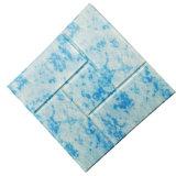 Colore Mixed del marmo del mattone della gomma piuma del PE della carta da parati 3D