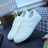 Peste homens confortável sapatos de lona de injecção de mídias físicas de lazer sapatas (FF1527-10)