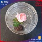 Коробка цветка круглого кубика ясности изготовления фабрики круглая акриловая