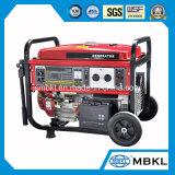 10kw van het Diesel van de Stroom van de enige Fase/Drie Fasen draagt het Draagbare Gemakkelijke Gebruik Huis van de Generator