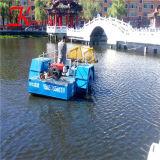 Récolteuse de mauvaises herbes aquatiques de haute performance/ navire en mouvement pour la vente