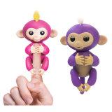 6개의 색깔 대화식 핑거 원숭이 직접 공장을%s 전자 지능적인 아기 원숭이