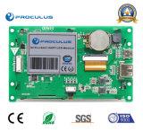 4.3 module de TFT LCD de pouce 480*272 avec le contact Screen+RS232 de Rtp/P-Cap