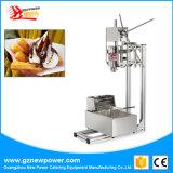 L'Espagnol Churros friteuse et Maker Churro Machine de remplissage de décisions