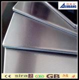 Hoja compuesta plástica de aluminio