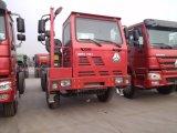 HOWO utilisé 6X4 pour les minéraux de camion à benne