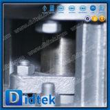 Didtek Pn25 Dn250 Wcb pero válvula de mariposa Triple-Excéntrica de la soldadura