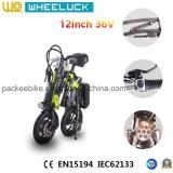 CE 12 pulgadas la mayoría de la bicicleta plegable popular de Electirc