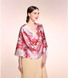The Long Silk Scarf with The Size 180 Cm* 55 Cm