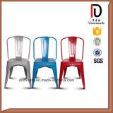 Projeto elegante que empilha a cadeira colorida da sala de visitas da laca
