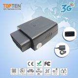 OBD inalámbrica Car Tracker soporte inalámbrico inmovilizador y regulador de velocidad (TK208S 3G-EZ)