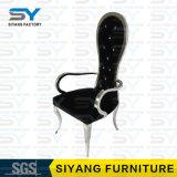 Rustikaler Möbel-Esszimmer-gesetzter Stahlstuhl-Bankett-Stuhl