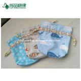 卸し売りカスタム高品質の女の子のための別の指定のくず綿のハンド・バッグ/ドローストリング袋