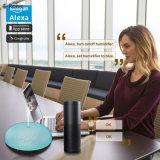 E-Ronic Alexa Voyant de contrôle du grain du bois diffuseur d'huile essentielle