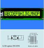 Schrifttyp LCD-Baugruppe Stce16101 mit Hintergrundbeleuchtung