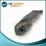 Taladro de torcedura sólido del carburo del tungsteno con el orificio del líquido refrigerador