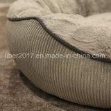 겨울 동안 큰 호화스러운 개 소파 애완 동물 침대